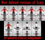 New deleted versions of Scary by Gokumi