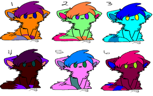 FREE Feline/Canine Chibi Adopts {CLOSED} by AvalaAdopts
