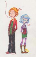 Senik and Audrie by Sayuri-onee-chan