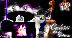 Carly351 and Octavia [ROBLOX Thumbnail] by BCMmultimedia