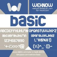 basicfont by weknow