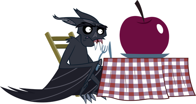 Fruit Bat Lunchtime by caffeinejunkie