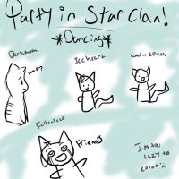 meanwhile in starclan. by NicoleFrost
