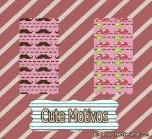 Patterns' Motivos cutes{02} by CxFloorChaan