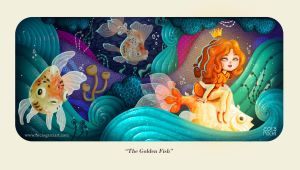 The Golden Fish by RocioGarciaART