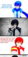 Double sided by BloodyVocaloid