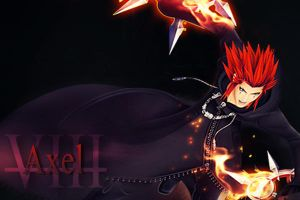 Kingdom Hearts Xiii Axel by LumenArtist
