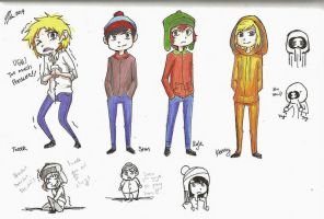 South Park by MESS-Anime-Artist