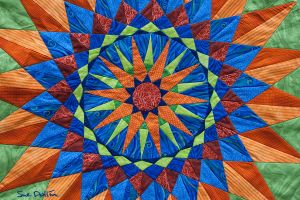 Tablecloth Detail by suedollinQuilts