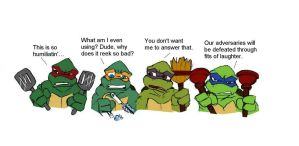 Weekend Weapons TMNT by Lily-pily