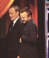 Aaron Paul and Bryan Cranston by Linds37
