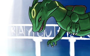 rayquaza by emptyvoids