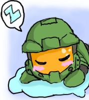chib chief sleep by LaDarkA117
