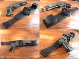 Ergo Proxy- gun holster by fevereon