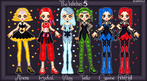 The Witches 5 by snuffpot