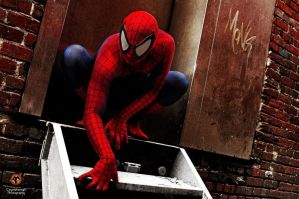 Spidey Alley 03 by jadencorsair