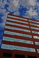 Red, White and Building by jackie-kins