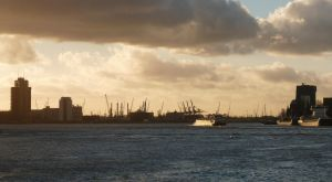 Rotterdam harbour again by Betagalactosidase