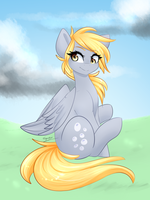 Sweet lil Derpy by SugarberryArt