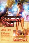 Summer Jam Pre Party flyer by DeityDesignz