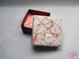 Sakura origami box by sushann