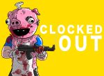 Clocked out GTA style title by slamadin