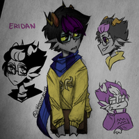 eridan doodles by Littleampora