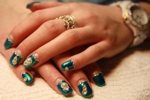 Nail Art 18 by LaraCb
