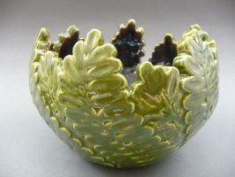 leaf bowl for ap studio art by froggyqueen
