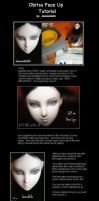 Obitsu Face Up Tutorial by damseldolls