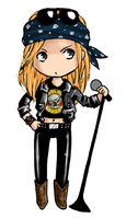 Axl Chibi by rivertem