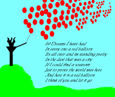 99 Red Balloons by Daemon01