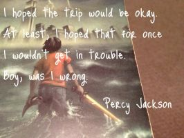 Percy Jackson Quote #2 by MoonlightMistress1