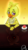 Chica the Chicken by zeldaprincessgirl100