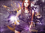 Miley Cyrus Tag by Crazed-Artist