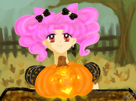 Contest: Halloween Chibiusa by MarieZombie
