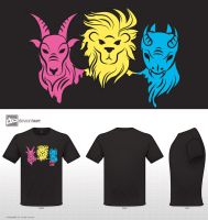 Chimera t-shirt design by InaVangen