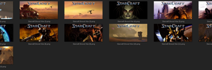 Starcraft Brood War Steam Icons by dan0uge