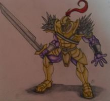 Satria_the space knight by Hafique84