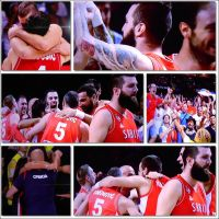 Serbian team in the finals of the World Basketball by VesnaRa14