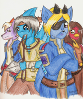 The Pride of the Royal Navy by trilly-ankh