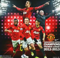 Manchester United Champions 2013 wallpaper by jafarjeef