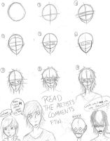 How I Draw Faces by wolfbite127