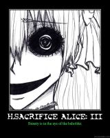 Human Sacrifice Alice: III by HC-IIIX