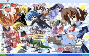 Desktop Hayate 2 by coolbell