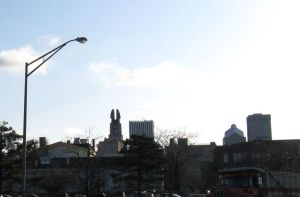 Rochester and a Lamp Post by musicsuperspaz