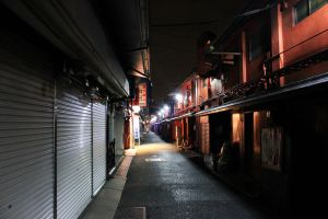 Tokyo After Midnight by lazzaris