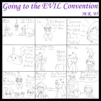Going to the EVIL Convention by purplelemon