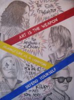 The Fabulous Killjoys 2.0 by iWillTakeYourJello
