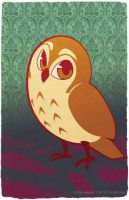 Cute Animal Series - Owl by argibi
